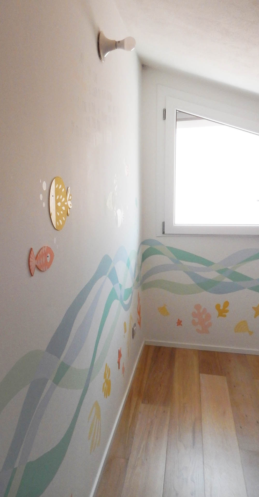 Decorazione muri interni sticker murale two puffballs - Decorazione muri interni ...