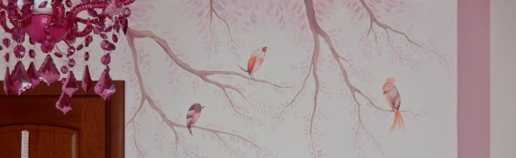 cameretta-bambina-piacenza-decorazione-uccelli