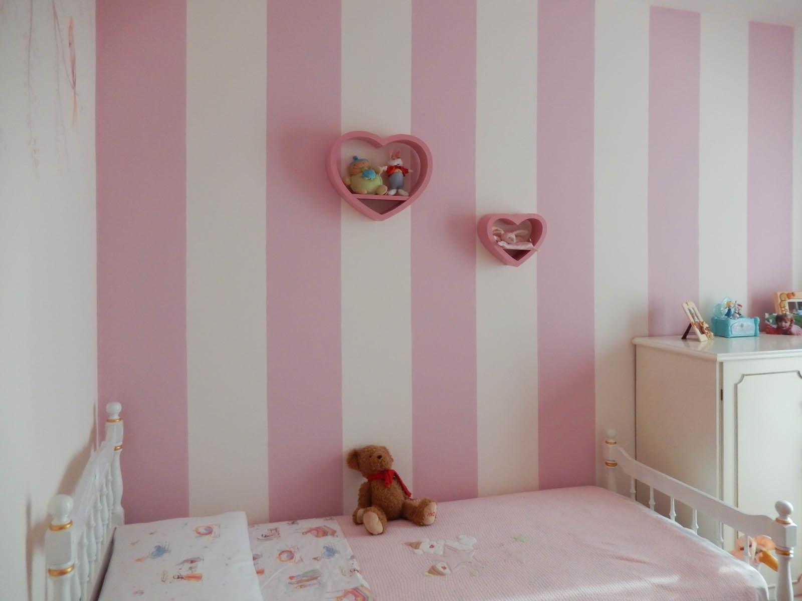 Principesse wonderland studio creativo - Decorazione parete cameretta ...