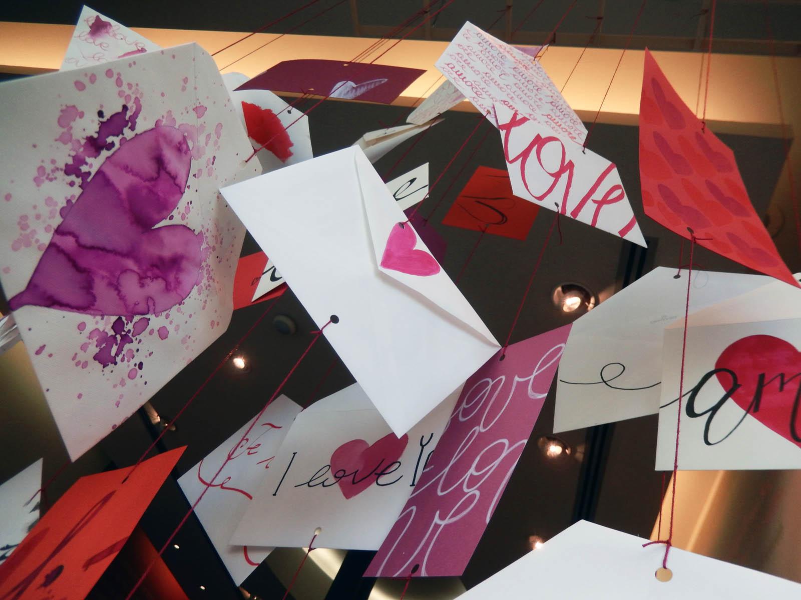 Decorazioni Lettere D Amore scrivimi – wonderland – studio creativo